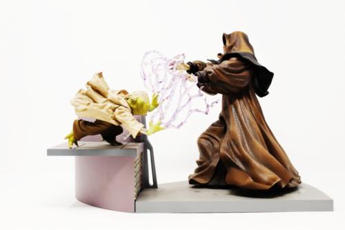 Yoda Vs. Darth Sidious
