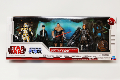 The Force Unleashed Figure Pack 1