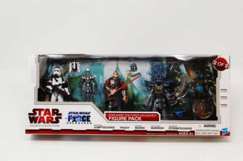 The Force Unleashed Figure Pack 2