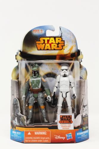 Boba Fett & Stormtrooper