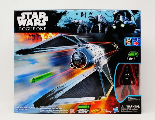 TIE Striker with Imperial TIE Fighter Pilot (Toy´s R Us)