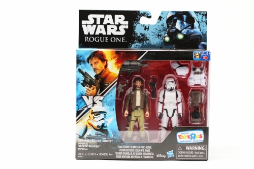 Captain Cassian Andor Vs Imperial Stormtrooper (Toy´s R Us Exclusive)