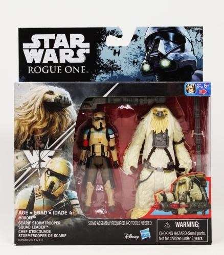 Moroff Vs Scarif Stormtrooper Squad Leader