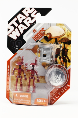 Pit Droids 2-pack (brown) with accessory 1