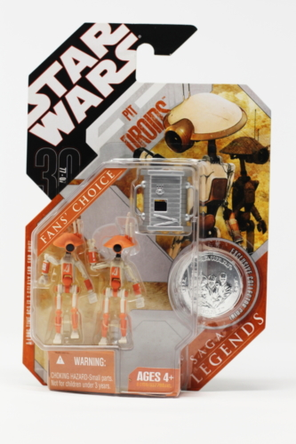 Pit Droids 2-Pack (orange) with Accesory 1