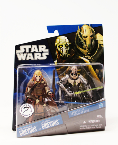 Legacy of the Dark Side- Pre-Cyborg Grievous to General Grievous