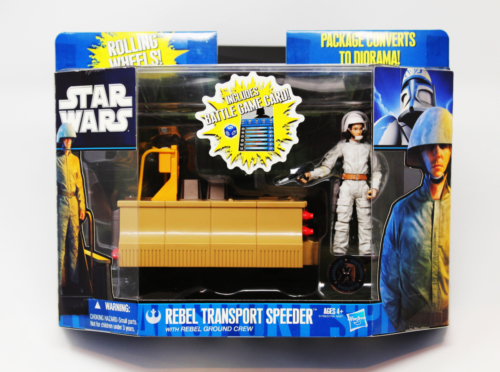 "Rebel Ground Crew with Transport [Toys ""R"" Us]"