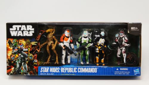 Republic Commando- Delta Squad & Geonosian Drone