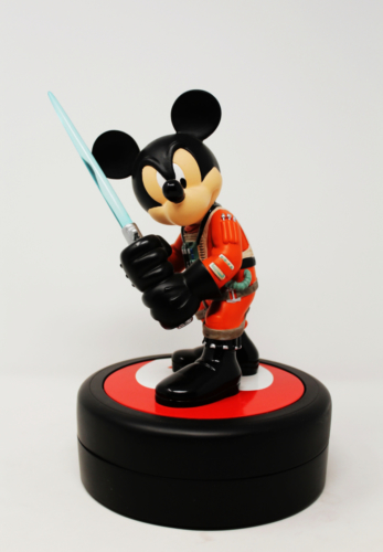 Mickey Mouse as Luke Skywalker