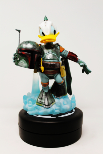 Donald Duck As Boba Fett