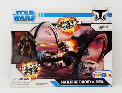 """Hailfire Droid & General Grievous (Toys """"R"""" Us"""