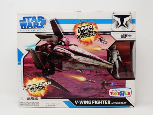 """V-Wing Starfighter & Oddball (Toys """"R"""" Us"""
