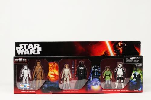 Epic Battles SEt II (Chew, Luke,vader, leia, stormtrooper)