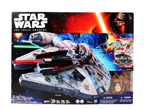 Millenium Falcon with Exclusive Finn, BB-8, Chewbacca
