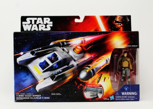 Y-Wing Scout Bomber With Kanan Jarrus
