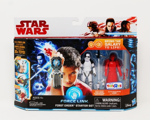 Force Link First Order Starter Set with Stormtrooper Executioner & Elite Praetorian Guard
