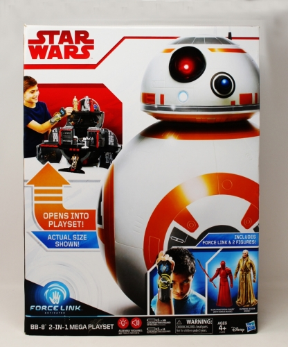 BB-8 2 In 1 Mega Playset with Snoke & Praetorian Guard
