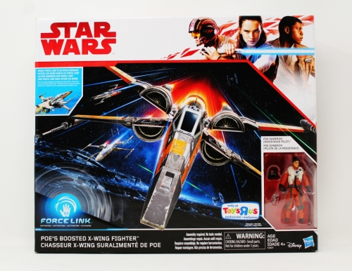 Poe's Boosted X-Wing Fighter (Toy´s R Us Exclusive)