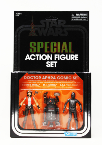 Vintage 3-Pack SDCC 2018 Exclusive: Doctor Aprha Comic Set